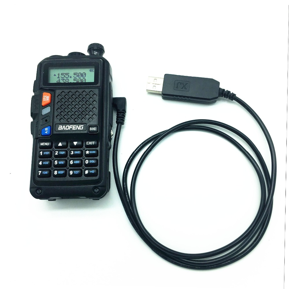 NEW Portable Baofeng B3PLUS 2.5MM USB Charging Cable For Walkie Talkie UVB3 PLUS UVS9 Portable CB Radio Charging