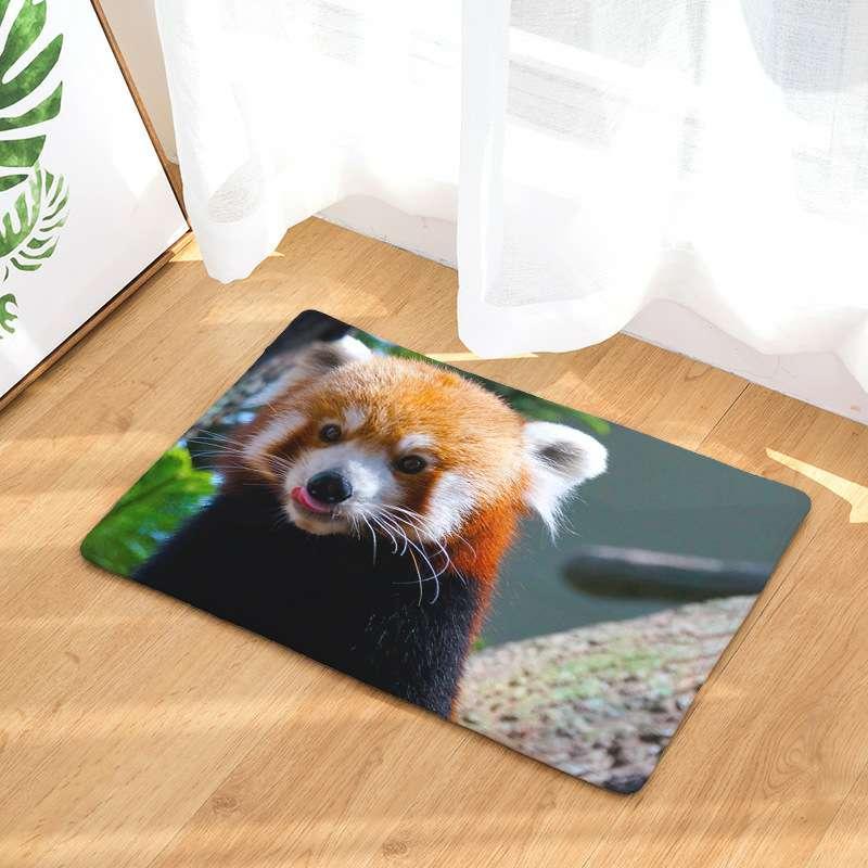 Washable Throw Rugs On Sale: CAMMITEVER Raccoon Carpet Seat Pad Area Rugs Washable
