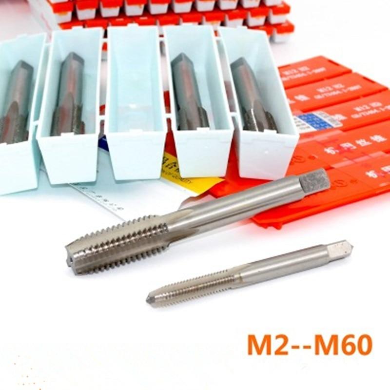 HSS M2 / din 1.3343 Hoogwaardige schroefdraadkranen Maat M2-M60 Nauwkeurigheid H2 Machinetappen
