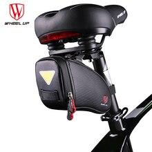 Wheel Up Bicycle Saddle Bag Rainproof Reflective MTB Mountain Road Bike Bag Cycling Rear Seatpost Bag