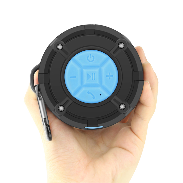 ZAPET Outdoor IPX7 Waterproof Bluetooth Speaker Wireless Portable Subwoofer Loudspeaker Shower Bicycle Speakers Suction Cup 4