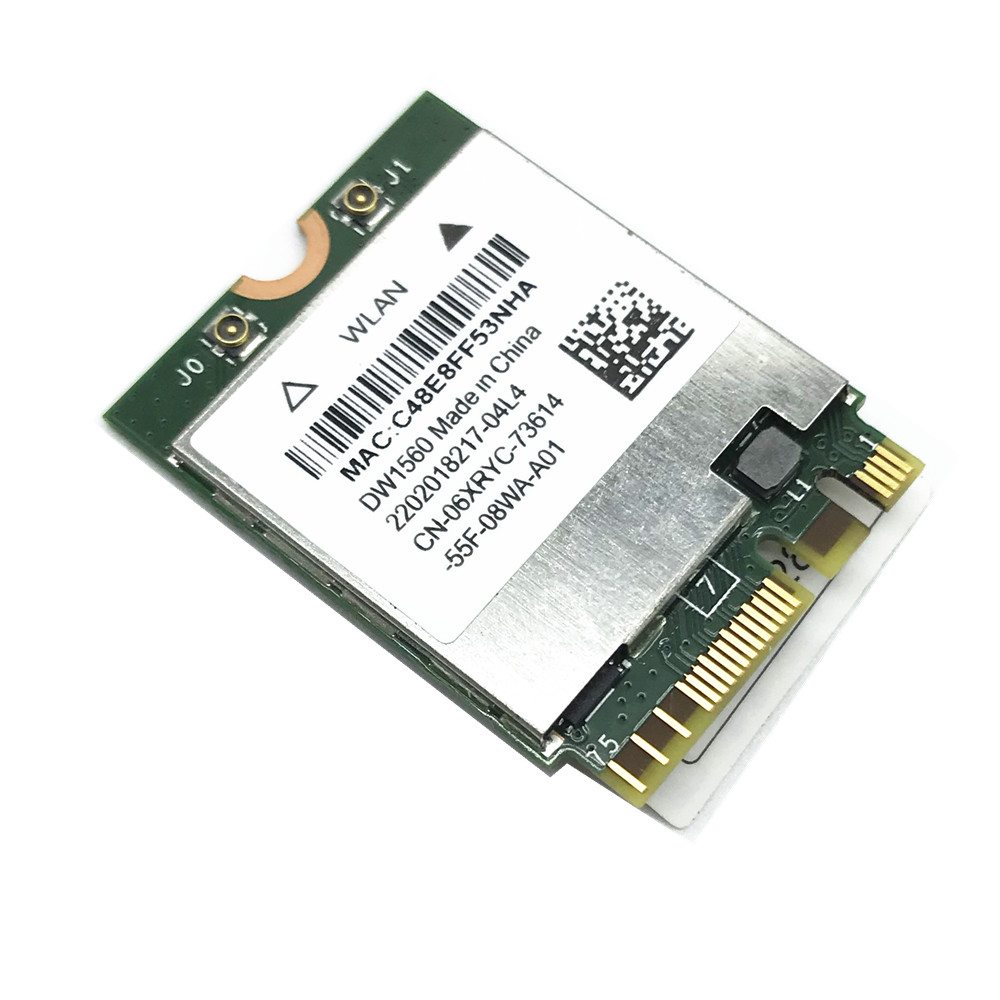 867Mbps Broadcom BCM94352Z DW1560 Wireless-AC NGFF M.2 Wifi Network Card 06XRYC 802.11ac Bluetooth 4.0 for Hackintosh broadcom bcm94352z dual band wireless ac ngff 802 11ac 867mbps wifi bluetooth bt 4 0 card for lenovo thinkpad 04x6020