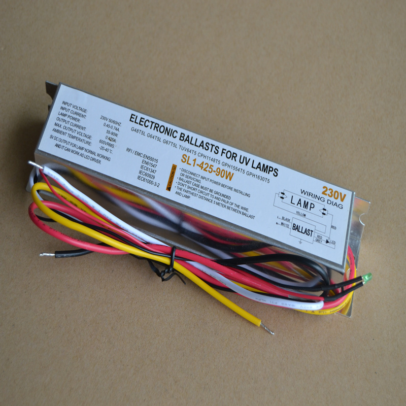 PL1-800-100 Special Ballast For Ultraviolet Germicidal Lamp 55W-95W Electronic Rectifier