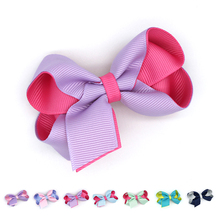 1pcs Big Ribbon Cheer Bow Hair Clips For Girls Women Fashion Headwear KIDS Accessories Boutique Cufflinks Barrettes Pins