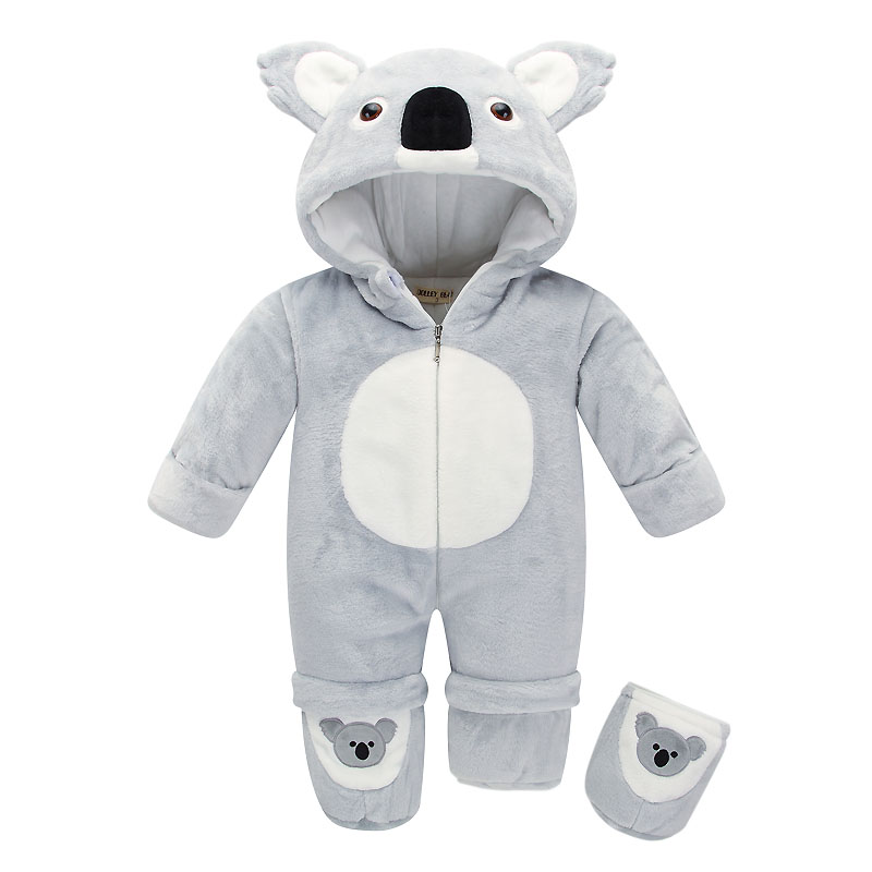 New Arrival Spring Autumn Clothes Flannel Baby Boy Clothes Cartoon Animal Jumpsuit Baby Girl Rompers Baby Clothing Pajamas