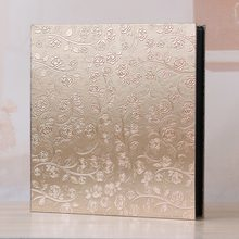 Premium -Frame Cover Large Family Wedding Anniversary Baby Vacation Photo Album 600 Pockets Holds Bound Multi-Directional 4x6 Ph(China)