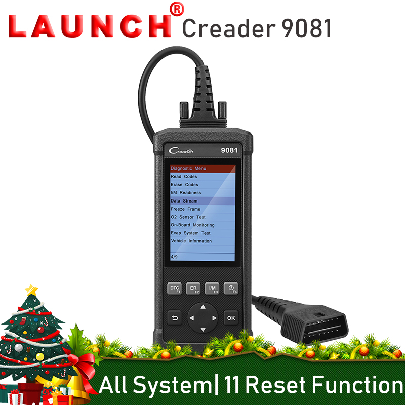 LANCIO Creader 9081 OBD2 Lettore di Codice Auto Scanner Diagnostico Automobilistico Strumento di 11 Funzioni Speciali TPMS DPF EPB