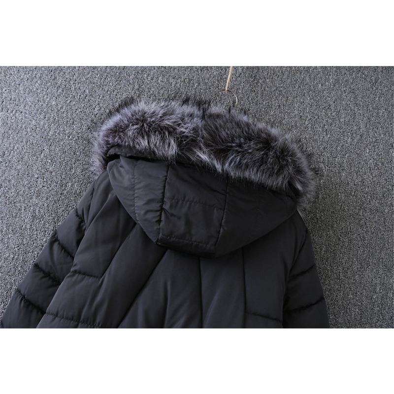 Veste D'hiver Femmes De Cc630 Section Rembourré Longue Coton Black 2019 Espace Parkas Suatans 6nd46S