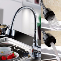 flexible kitchen tap Kitchen Mixer Cold and Hot Kitchen Tap Single Hole Water Tap mitigeur cuisine