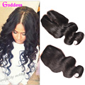 Peruvian Virgin Hair Body Wave Closure Peruvian Body Wave Closure Middle/Free Part Clsoure Cheap Closures With Free Shipping
