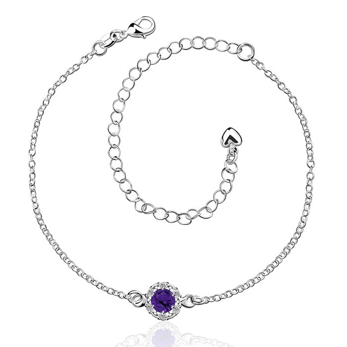 Anklet 925 jewelry silver plated fashion jewelry anklet for women jewelry /YRVURGKJ