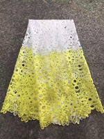 Wholesale African Lace Fabric 2017 High Quality Lace Sequin Fabric Beautiful Pearls Lace Fabric In Peach