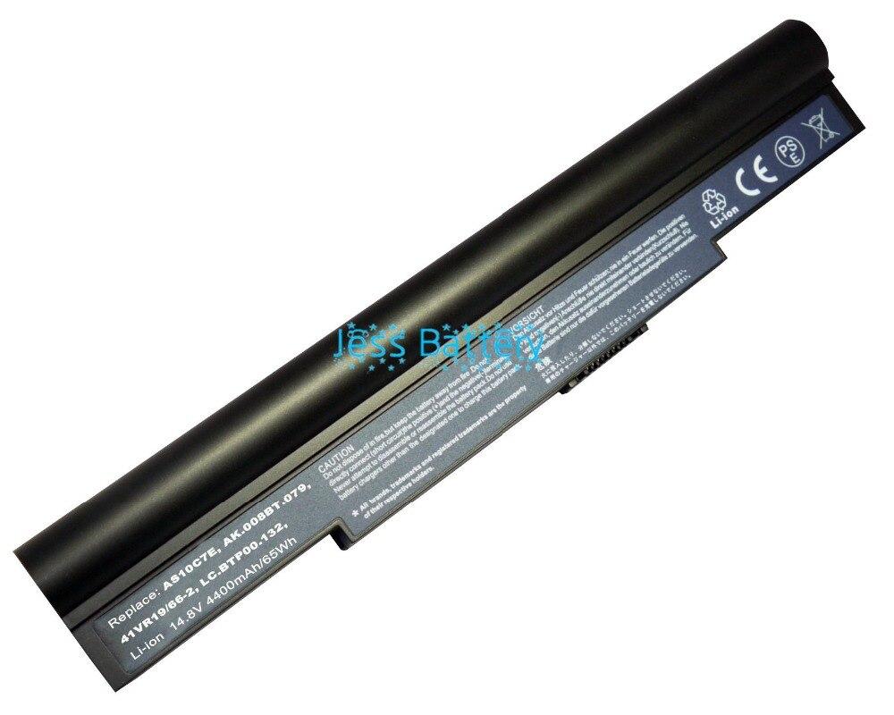 News Laptop Battery  For Acer Aspire AS10C7E 5943G 8943G AS10C5E  4ICR19/66-2 4INR18/65-2 934T2086F AS10C5E