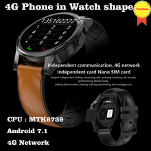For IOS Android7.1 4G SmartWatch Bluetooth phone watch sport fitness tracker 3GB+32GB WIFI GPS Heart Rate Smartwatch pk kw99 z01