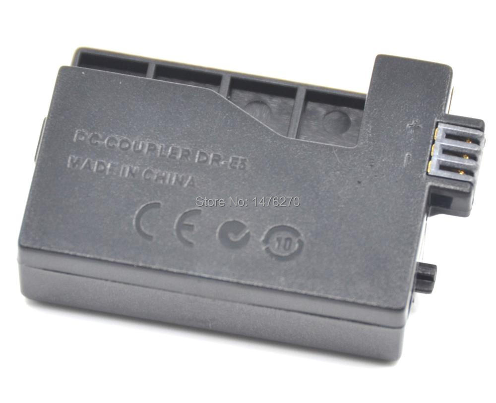 lpe5 Fake Battery For Canon Digital Cameras Eos Rebel Xsi Xs 450d 500d 1000d Kiss F X2 X3 T1i ... Dre5 Dr E5 Dr-e5 Dc Coupler