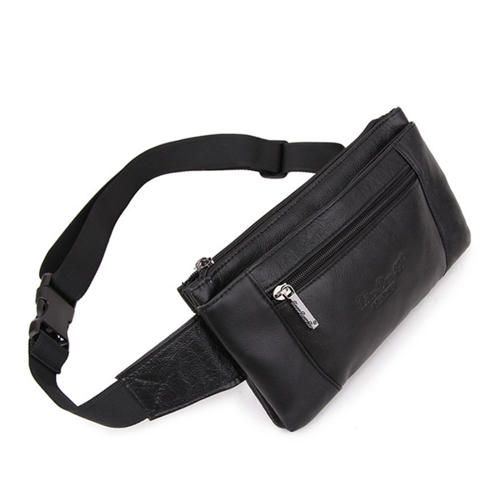 Men S Genuine Leather Cowhide Designer Belt Hip Waist Pack Coin Purse Travel Male Cell Phone Pocket Money Bag Pouch In Packs From Luggage