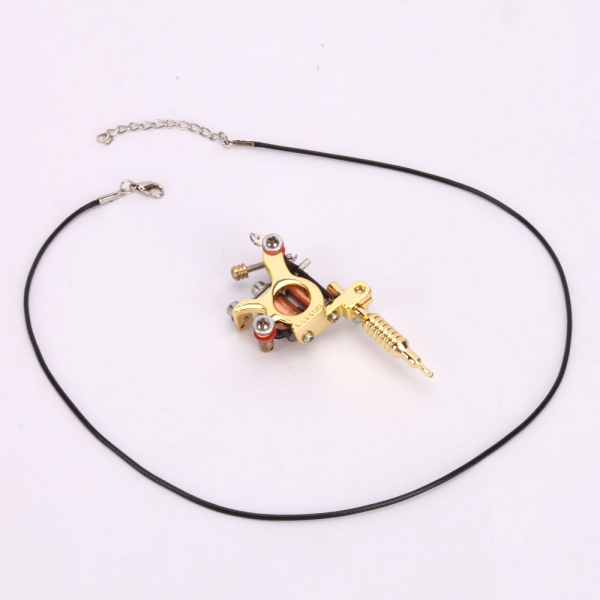 Gs100 fashion mini tattoo machine pendant toy with chain apply to gs100 fashion mini tattoo machine pendant toy with chain apply to more than one occasion decorations pendant golden silver in tattoo accesories from mozeypictures Gallery