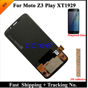 Image 2 - LCD Screen  For Moto Z3 Play LCD XT1929  LCD Display For Moto Z3 Play XT1929 Display LCD Screen Touch Digitizer Assembly