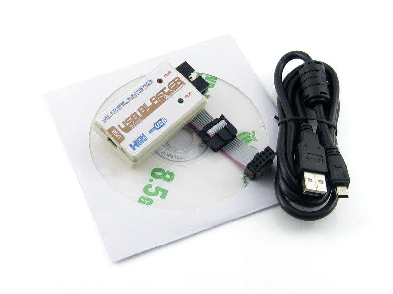 Altera USB Blaster Download Kabel ALTERA FPGA CPLD USB-Blaster Programmer Debugger für Altera Cyclone & MAX von Waveshare