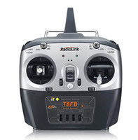 Radiolink T8FB 8CH RC Transmitter and Receiver R8EF 2.4GHz Radio Controller SBUS/PPM/PWM for Racing Drone/Fixed Wing and More (M