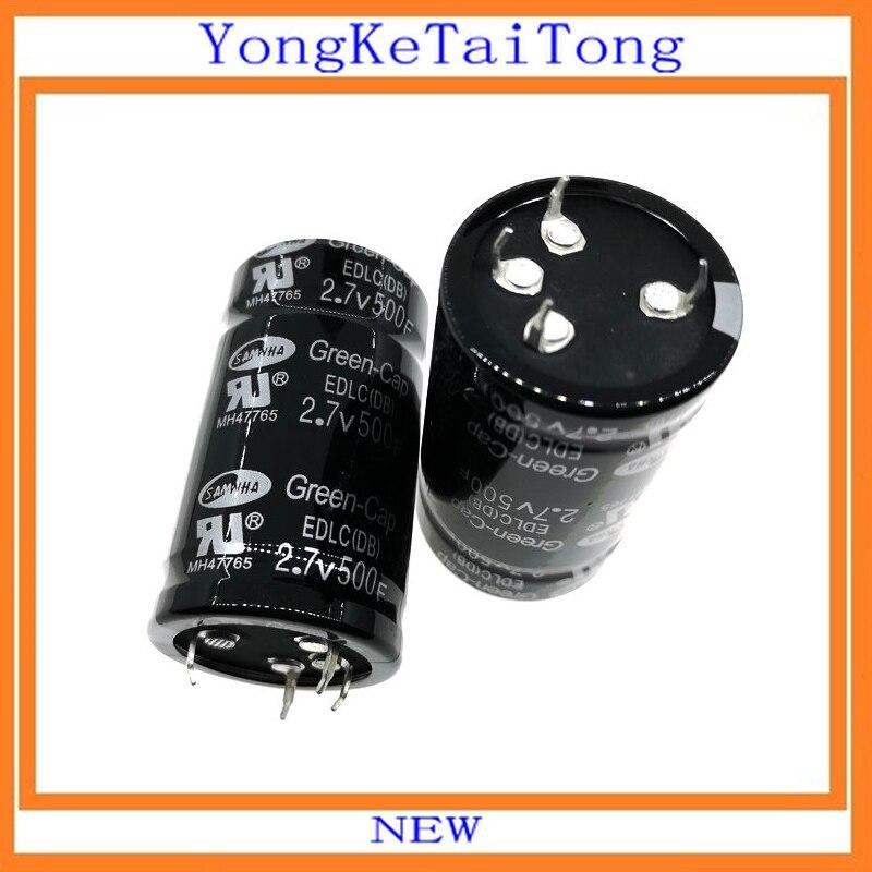 1 шт. 2.7V500F 2,7 V 500F 500F2. 7V 35*60 мм фарадный конденсатор с алюминиевой крышкой