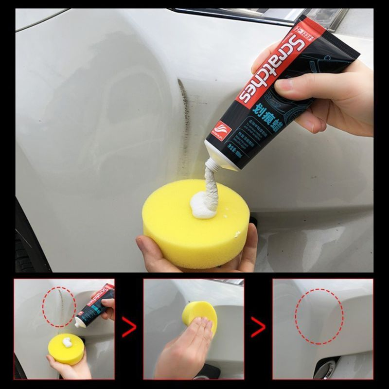 100ml Car Scratches Repair Kit Polishing Wax Cream Paint Scratch Remover Care