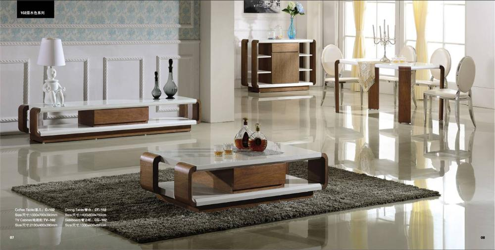 Living Room And Dinning Set Coffee TableTV Cabinet Sideboard