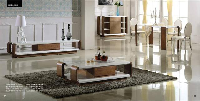Soggiorno e Sala da pranzo Set: Tavolino, TV Cabinet, console e ...