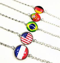 24 шт (9 стилей) США Франция Германия Испания Бразилия Португалия
