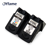 OYfame 510 511 Compatible cartridges PG 510 CL 511 for Canon Pixma IP2700 MP240 MP250 MP260 MP280 MP495 MP490 MP480 MX320 MX330