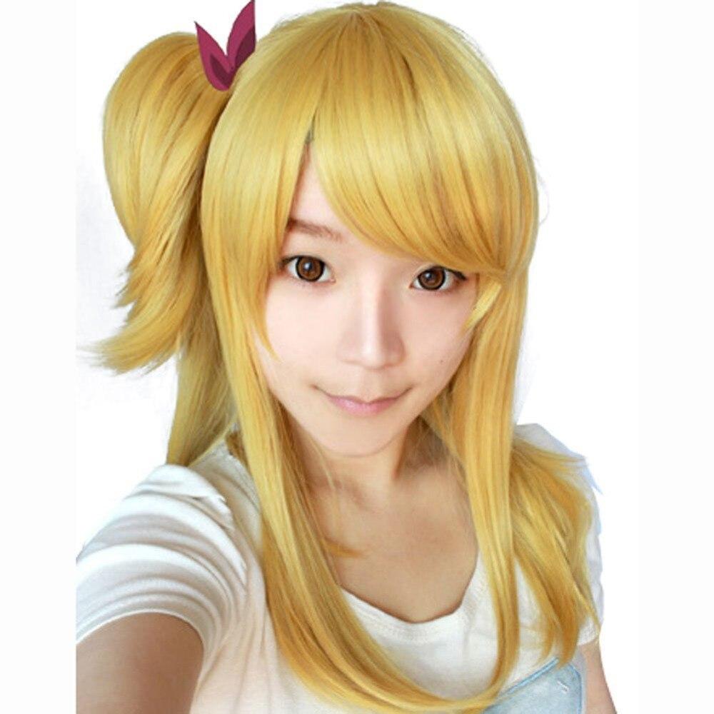 aliexpress : buy free hair cap fairy tail lucy heartphilia