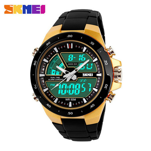 Factory Supply Directly Waterproof Braned Digital Sport Watches For Men