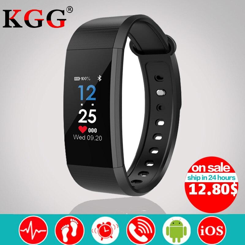 I9 Smart Band IP68 Waterproof Smart Watch Bracelet Heart Rate Monitor Blood Pressure Fitness Tracker Sport Smart Wristband