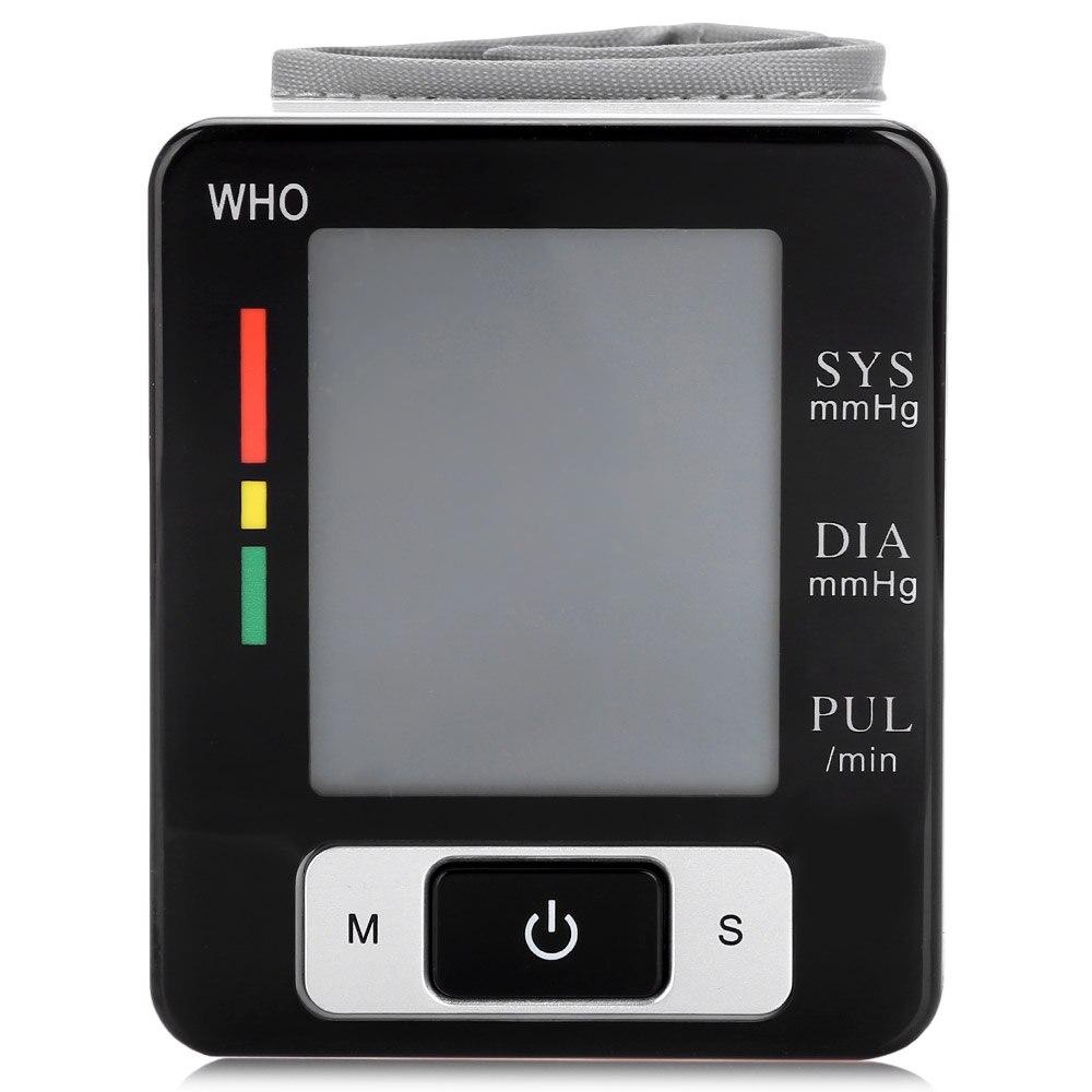 Handgelenk Blutdruck Puls Monitor Digital Blutdruckmessgerät Lcd Display Handgelenk Blutdruck Heart Beat Rate Messen Gesundheit Pflege Gute WäRmeerhaltung Heim-gesundheitsmonitor