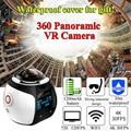 IDV 360 Camera Panoramic Video Wifi Mini Action Camera 360 degree Waterproof VR Camera 2448*2448 Ultra HD freeshipping