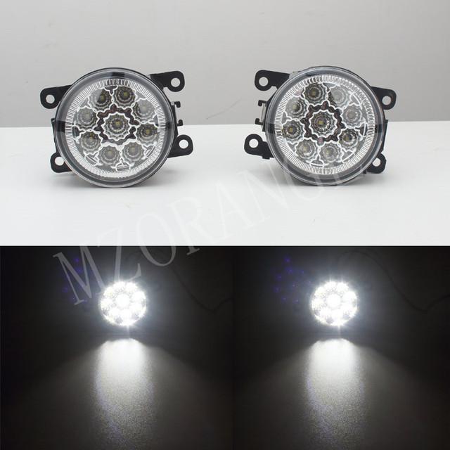 6000 K CCC 12 V-car styling DRL Fog Lâmpadas iluminação Luzes LED 9 W/1 CONJUNTO Para Renault DUSTER LOGAN LATITUDE Laguna/MEGANE 2/3/CC