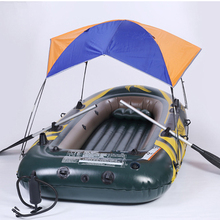 Intex Надувная Лодка Палатка Вс Укрытие 2 3 4 Человек ПВХ Резиновые Рыбацкая Лодка, Палатка Козырек от солнца Seahawk (нет Лодки)