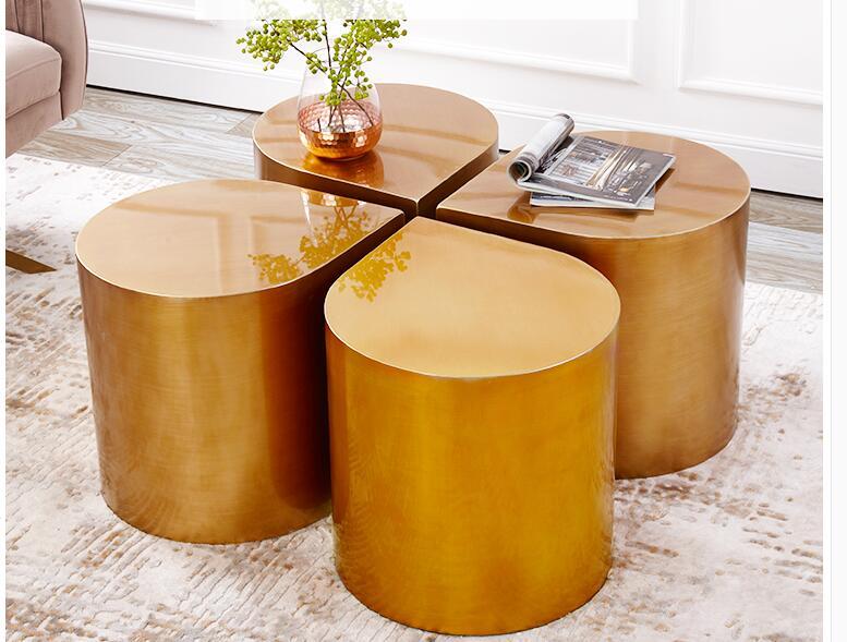 Moderna mini Nordic in ferro battuto side angolo tavolino da caffè letto tavolo.