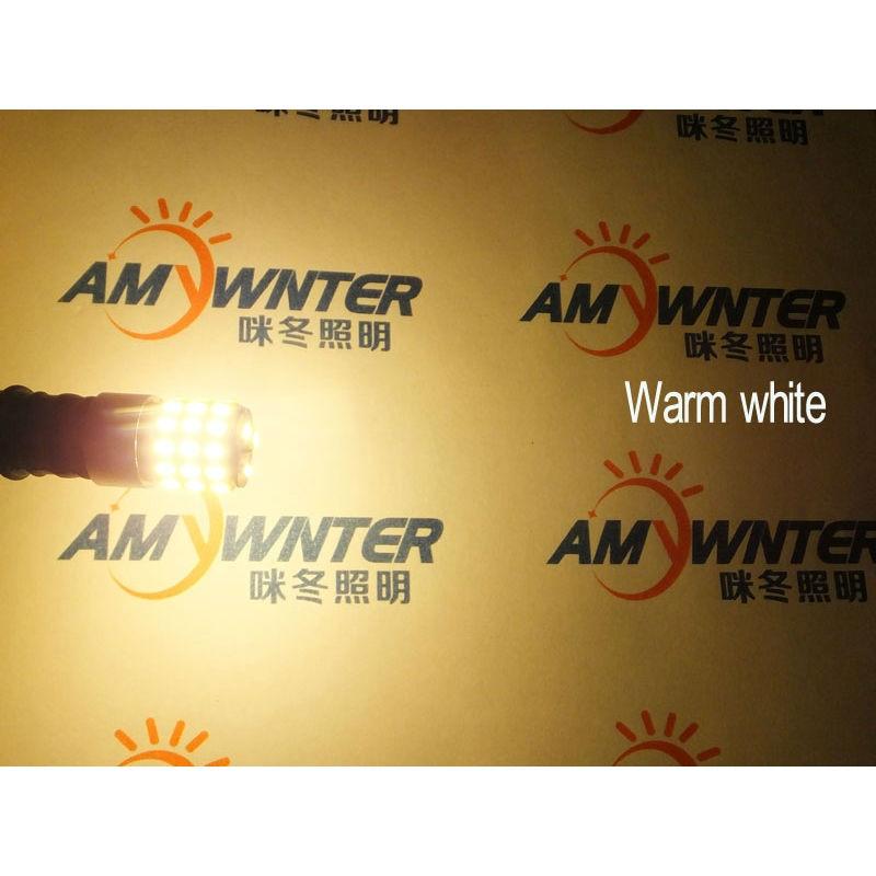 Högeffekt W16W-lampor W5W T10 LED 194 921 3014leds WY16W LED-lampor - Bilbelysning - Foto 4