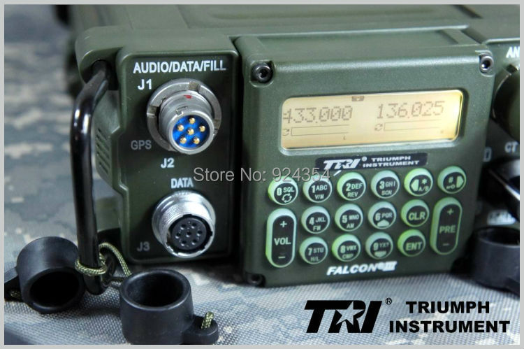 Walkie Talkie PRC 117G TRI Instrument versatile U/V Stages
