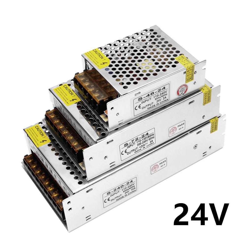 Schaltnetzteil 110 V/220 V zu 24V led netzteil CCTV/Led-streifen AC zu DC quelle power Adapter