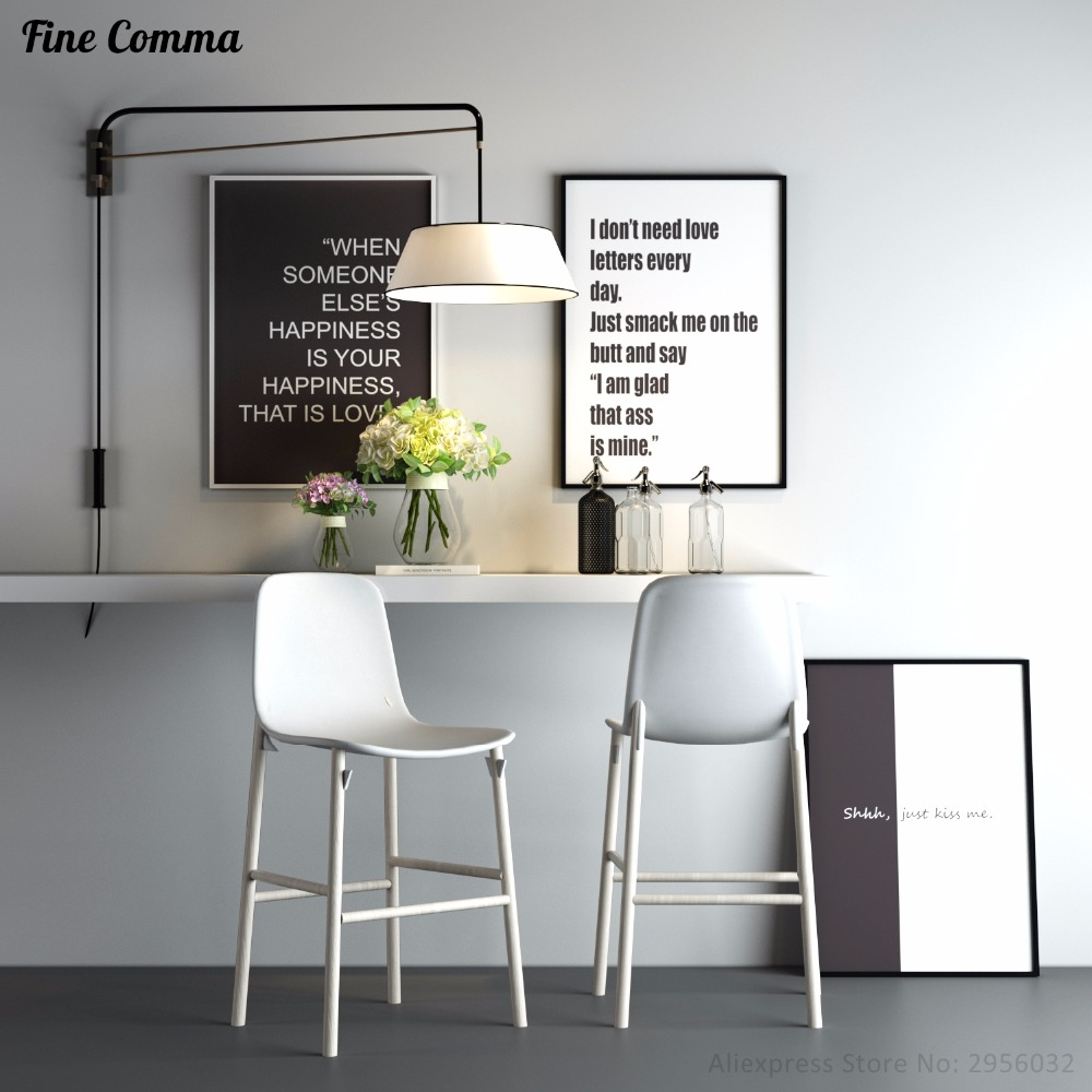 Aliexpress.com : Buy Posters Nordic Style Modern Love