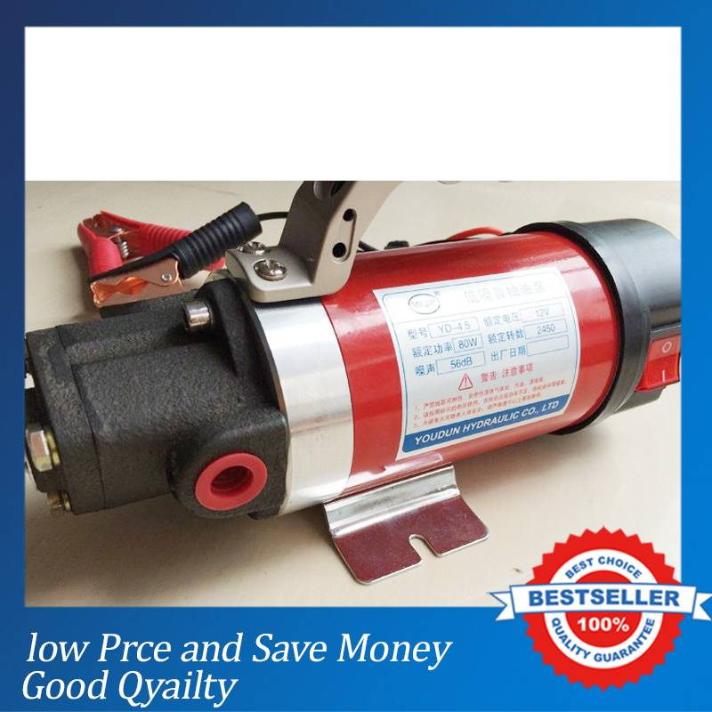 24V Car Oil Change Pump 2.5L/min Electric Mini Gear Oil Pump manka care 110v 220v ac 50l min 165w small electric piston vacuum pump silent pumps oil less oil free compressing pump
