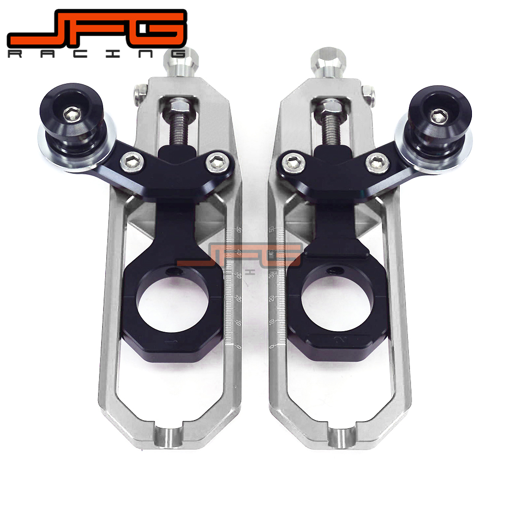 Chain Adjusters Tensioners With Spool Fit for Motorcycle BMW S1000RR S1000 RR 2010 2011 2012 2013 2014 chain adjusters tensioners with spool fit for honda cbr600rr cbr600 rr 2007 2008 2009 2010 2011 2012 motorcycle