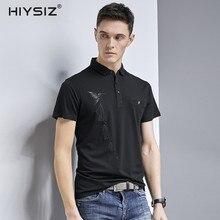 HIYSIZ Brand New 2019 Men's Cotton T-shirt 100% cotton Streetwear New Arrival Summer Style Short Sleeve O-neck Men t-shirt ST171 женские блузки и рубашки shirt new brand 2015 o