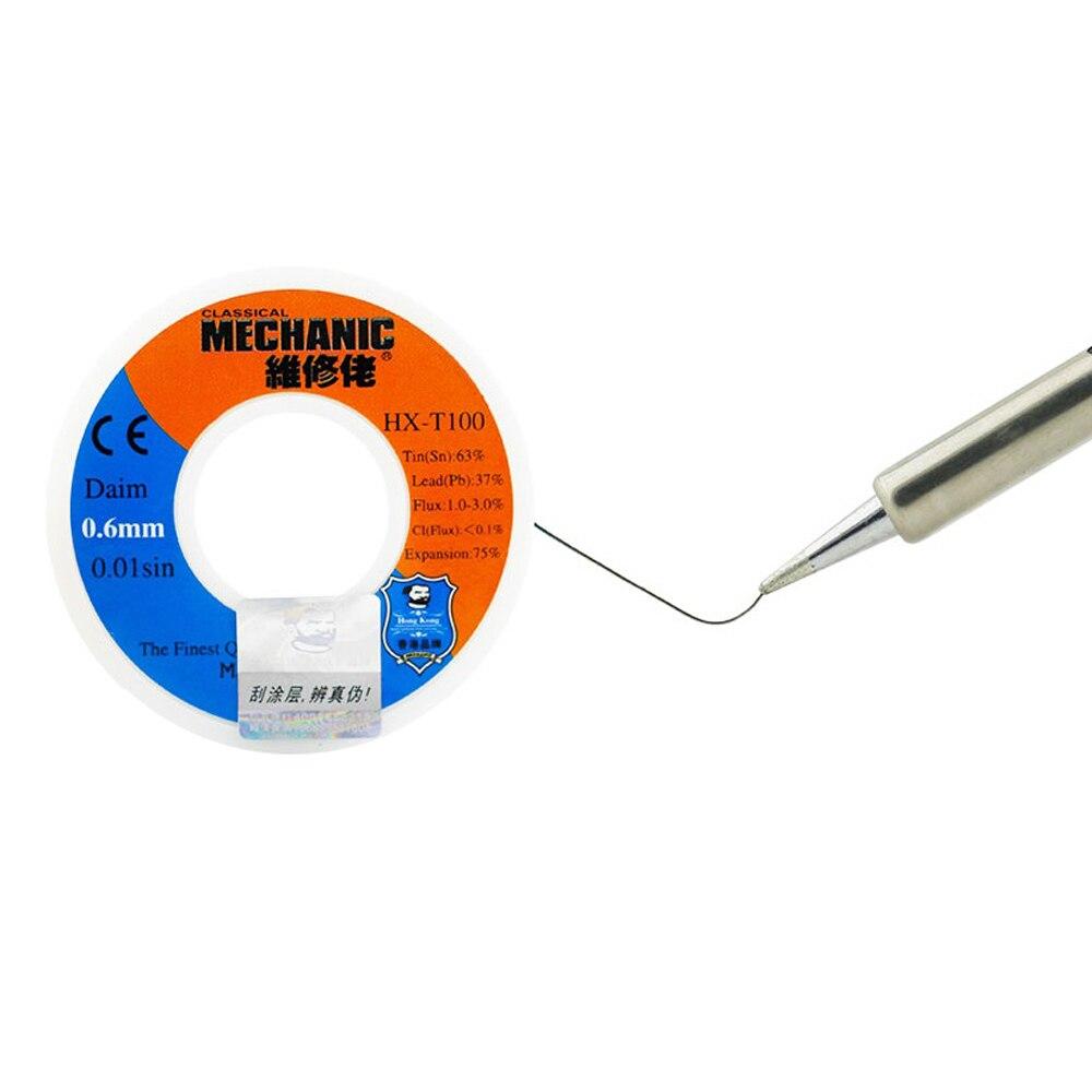 MECHANIC 500g Solder Silk low Temperature Rosin Flux 0.5 0.6 0.8 1.0mm Low Meltingl Point  Solder Wire Soldering Tin BGA Welding 4