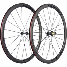 SUPERTEAM Cycling Bicycle Wheelset Carbon 38mm Depth Carbon Road Wheels Clincher China Bike Carbon Wheel(China)