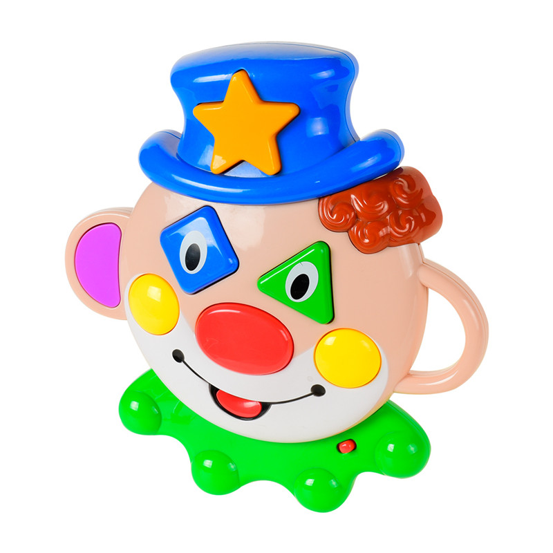 Baby Toys Funny Talking Clown Baby Musical sound toys Kids Learning Study Musical Sound Toy hildren Educational Playing Toy Gift