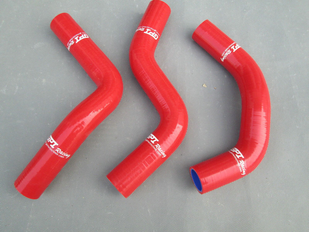For Suzuki  SWIFT 1.3L G13 GTI 1989-2000 Blue Silicone Radiator Coolant hose