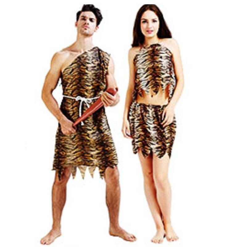 leopardo salvaje traje de hombre de las cavernas croods picapiedra primitivo india sexy ropa traje del